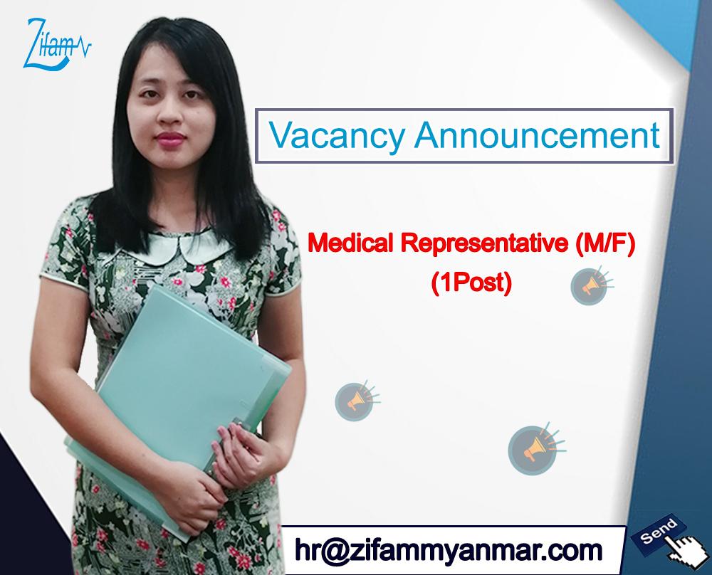 Medical Representative-Zifam